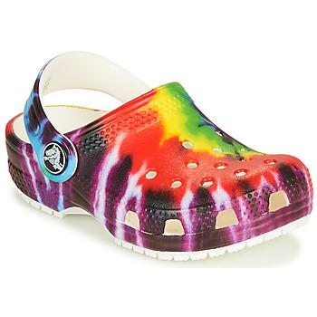 Παπούτσια Παιδί Σαμπό Crocs CLASSIC TIE DYE GRAPHIC CLOG K Multicolour