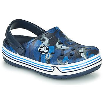 Παπούτσια Αγόρι Σαμπό Crocs CROCBAND SHARK CLOG PS Marine