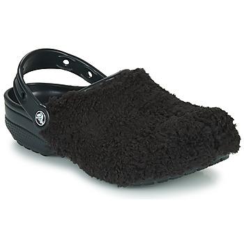 Παπούτσια Σαμπό Crocs CLASSIC FUZZ MANIA CLOG Black