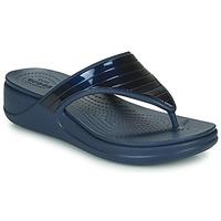 Παπούτσια Γυναίκα Σαγιονάρες Crocs CROCSMONTEREYMETALLICSTPWGFPW Marine
