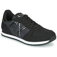 Παπούτσια Γυναίκα Χαμηλά Sneakers Armani Exchange  Black