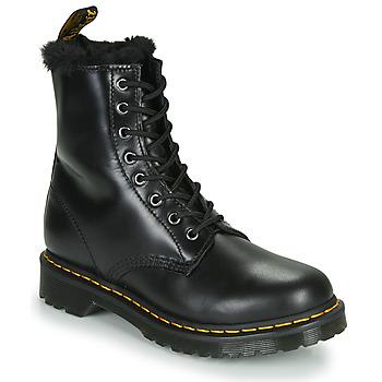 Παπούτσια Γυναίκα Μπότες Dr Martens 1460 SERENA Black
