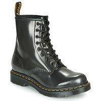 Παπούτσια Γυναίκα Μπότες Dr Martens 1460 W Silver