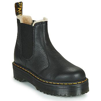 Παπούτσια Γυναίκα Μπότες Dr Martens 2976 QUAD FL Black