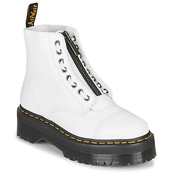 Παπούτσια Γυναίκα Μπότες Dr Martens SINCLAIR Άσπρο
