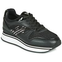 Παπούτσια Γυναίκα Χαμηλά Sneakers Emporio Armani  Black