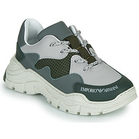 Παπούτσια Παιδί Χαμηλά Sneakers Emporio Armani XYX008-XOI34 Green / Grey