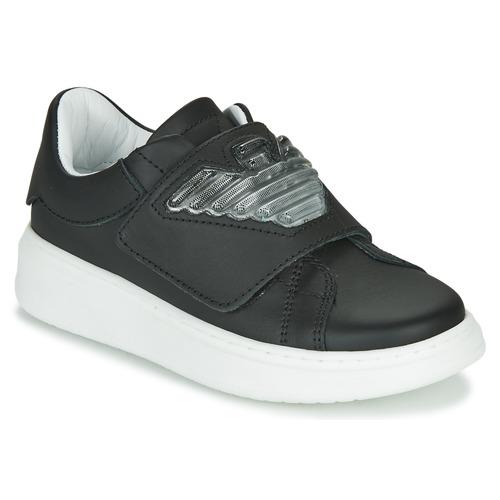 Παπούτσια Παιδί Χαμηλά Sneakers Emporio Armani XYX014-XOI08 Black