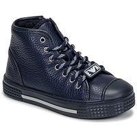 Παπούτσια Παιδί Ψηλά Sneakers Emporio Armani XYZ004-XOI25 Marine