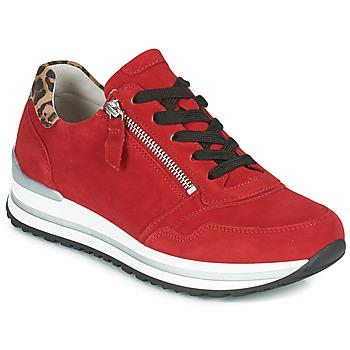 Παπούτσια Γυναίκα Χαμηλά Sneakers Gabor 5652838 Red