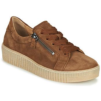 Παπούτσια Γυναίκα Χαμηλά Sneakers Gabor 5333412 Camel
