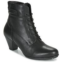 Παπούτσια Γυναίκα Μποτίνια Gabor 5564427 Black