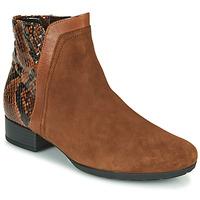 Παπούτσια Γυναίκα Μποτίνια Gabor 5271235 Camel