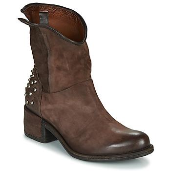Παπούτσια Γυναίκα Μπότες Airstep / A.S.98 OPEA STUDS Brown