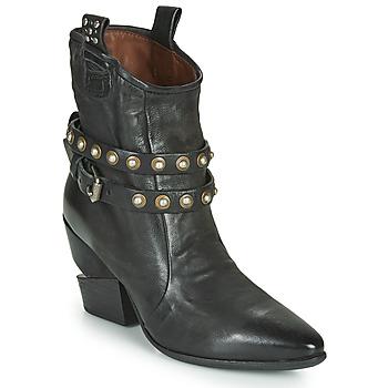 Παπούτσια Γυναίκα Μποτίνια Airstep / A.S.98 TINGET BUCKLE Black
