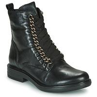 Παπούτσια Γυναίκα Μπότες Mjus CAFE CHAIN Black