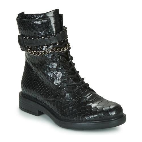 Παπούτσια Γυναίκα Μπότες Mjus CAFE SNAKE Black