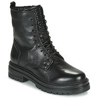 Παπούτσια Γυναίκα Μπότες Mjus DOBLE LACE Black