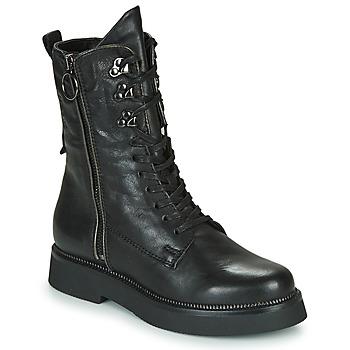 Παπούτσια Γυναίκα Μπότες Mjus TRIPLE ZIP Black