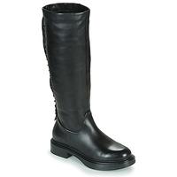 Παπούτσια Γυναίκα Μπότες για την πόλη Mjus MORGANA HIGH Black