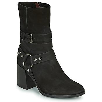 Παπούτσια Γυναίκα Μποτίνια Mjus TUA BUCKLE Black
