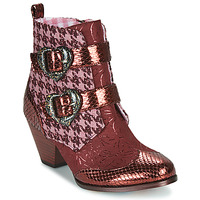 Παπούτσια Γυναίκα Μπότες Irregular Choice TOO HEARTS Bordeaux