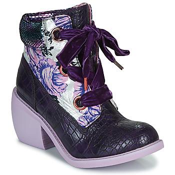 Παπούτσια Γυναίκα Μπότες Irregular Choice SCARPER Violet