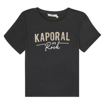 Υφασμάτινα Κορίτσι T-shirt με κοντά μανίκια Kaporal MAPIK Black