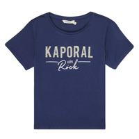 Υφασμάτινα Κορίτσι T-shirt με κοντά μανίκια Kaporal MAPIK Marine