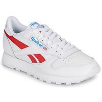 Παπούτσια Χαμηλά Sneakers Reebok Classic CL LTHR Άσπρο / Red