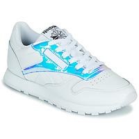 Παπούτσια Γυναίκα Χαμηλά Sneakers Reebok Classic CL LTHR Άσπρο / Iridescent