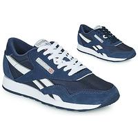 Παπούτσια Χαμηλά Sneakers Reebok Classic CL NYLON Marine / Άσπρο