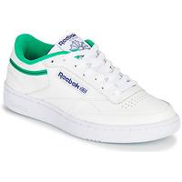 Παπούτσια Χαμηλά Sneakers Reebok Classic CLUB C 85 Άσπρο / Green
