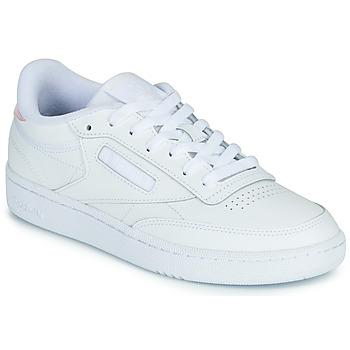 Παπούτσια Γυναίκα Χαμηλά Sneakers Reebok Classic CLUB C 85 Άσπρο / Iridescent