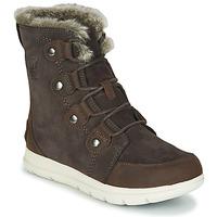 Παπούτσια Γυναίκα Μπότες Sorel SOREL EXPLORER JOAN Brown