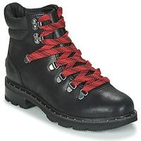 Παπούτσια Γυναίκα Μπότες Sorel LENNOX HIKER Black