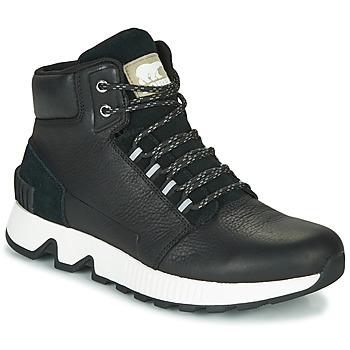 Ψηλά Sneakers Sorel MAC HILL MID LTR WP ΣΤΕΛΕΧΟΣ: Δέρμα & ΕΠΕΝΔΥΣΗ: Ύφασμα & ΕΣ. ΣΟΛΑ: Συνθετικό & ΕΞ. ΣΟΛΑ: Καουτσούκ