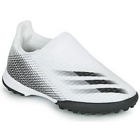 Παπούτσια Παιδί Ποδοσφαίρου adidas Performance X GHOSTED.3 LL TF J Άσπρο