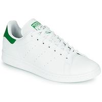Παπούτσια Χαμηλά Sneakers adidas Originals STAN SMITH VEGAN Άσπρο / Green