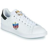 Παπούτσια Γυναίκα Χαμηλά Sneakers adidas Originals STAN SMITH W Άσπρο / Logo