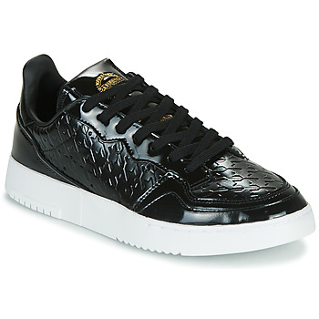 Παπούτσια Γυναίκα Χαμηλά Sneakers adidas Originals SUPERCOURT W Black / Vernis