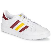 Παπούτσια Χαμηλά Sneakers adidas Originals TEAM COURT Άσπρο / Bordeaux / Yellow