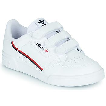 Παπούτσια Παιδί Χαμηλά Sneakers adidas Originals CONTINENTAL 80 CF C Άσπρο