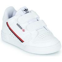 Παπούτσια Παιδί Χαμηλά Sneakers adidas Originals CONTINENTAL 80 CF I Άσπρο