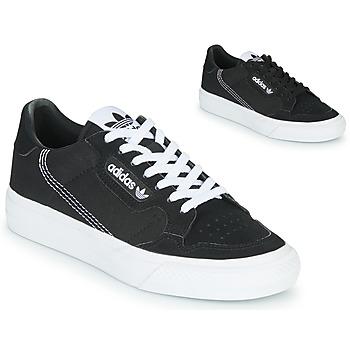Παπούτσια Παιδί Χαμηλά Sneakers adidas Originals CONTINENTAL VULC J Black