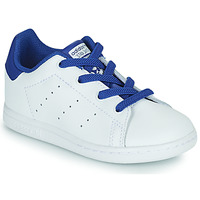 Παπούτσια Αγόρι Χαμηλά Sneakers adidas Originals STAN SMITH EL I Άσπρο / Μπλέ