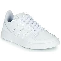 Παπούτσια Παιδί Χαμηλά Sneakers adidas Originals SUPERCOURT J Άσπρο