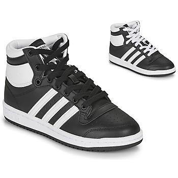 Παπούτσια Παιδί Ψηλά Sneakers adidas Originals TOP TEN J Black / Άσπρο