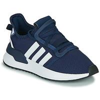 Παπούτσια Αγόρι Χαμηλά Sneakers adidas Originals U_PATH RUN J Marine / Άσπρο