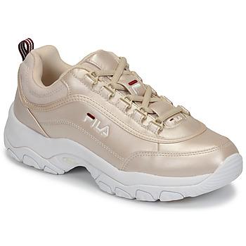 Παπούτσια Γυναίκα Χαμηλά Sneakers Fila STRADA F WMN Gold